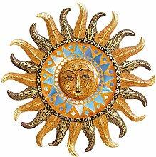 Spiegel Sonne Mosaik antik 40 cm