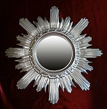 Spiegel Sonne Silber Spiegel Silber Barock Fake Vintage 42cm Durchmesser Sun Mirror