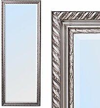 Spiegel STRIPE 160x60cm silber antik Design Spiegel Holzrahmen Wandspiegel