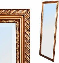 Spiegel STRIPE 180x70cm gold-antik Design Spiegel