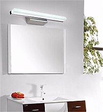 Spiegel vorne Licht LisaFeng LED Sockel aus Edelstahl und Acryl Lampenschirm, modernes Bad wasserdicht Anti-Nebelscheinwerfer, 80 cm