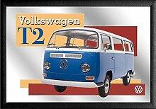 Spiegel VW Bulli T2 VW Lizenz Wandspiegel