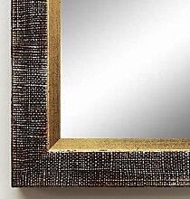 Spiegel Wand-Spiegel Flur-Spiegel Bad-Spiegel - Heideck 3,0 - Braun Rot - 40 x 80 - AM - 200 Größen zur Auswahl - handgefertigt - Antik Landhaus Barock
