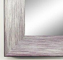 Spiegel Wand-Spiegel Flur-Spiegel Bad-Spiegel - Langenzenn 4,2 - Silber Violett - 70 x 110 - FM - 200 Größen zur Auswahl - handgefertigt - Modern, Shabby, Vintage