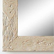Spiegel Wandspiegel Badspiegel Flurspiegel Garderobenspiegel - Über 200 Größen - Parma dkl. Beige 3,9 - Größe des Spiegelglases 40 x 130 - Wunschmaße auf Anfrage - Antik, Barock
