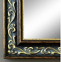 Spiegel Wandspiegel Badspiegel Flurspiegel Garderobenspiegel - Über 200 Größen - Verona Braun Gold 4,4 - Außenmaß des Spiegels 60 x 100 - Wunschmaße auf Anfrage - Antik, Barock