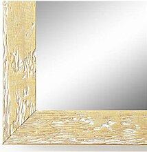 Spiegel Wandspiegel Badspiegel Flurspiegel Garderobenspiegel - Über 200 Größen - Rimini Beige 3,0 - Größe des Spiegelglases 60 x 140 - Wunschmaße auf Anfrage - Modern