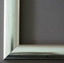Spiegel Wandspiegel Badspiegel Flurspiegel Garderobenspiegel - Über 200 Größen - Imola Silber Rot geschliffen 3,6 - Außenmaß des Spiegels 40 x 140 - Wunschmaße auf Anfrage - Antik, Barock