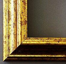 Spiegel Wandspiegel - Bari Gold 4,2 - Über 14000 Größen im Angebot zur Auswahl - hier: 43 x 140 cm - Maßanfertigung