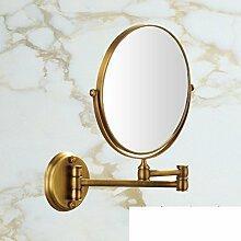 Spiegel/Wandspiegel/Folding Rotary Toilette Teleskop Spiegel/Double-sided vergrößerten Spiegel-B
