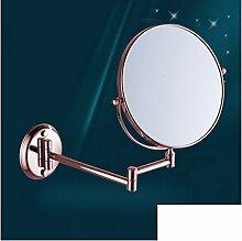 Spiegel/Wandspiegel/Folding Rotary Toilette Teleskop Spiegel/Double-sided vergrößerten Spiegel-A