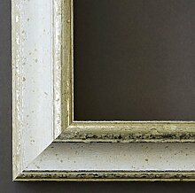 Spiegel Wandspiegel - Genua Weiß Silber 4,3 -
