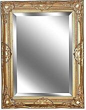Spiegel Wandspiegel Lara antik gold Barock 65 x 50 cm