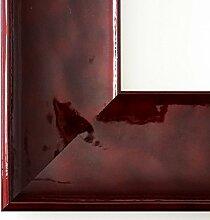 Spiegel Wandspiegel - Taranto Rot Lack 7,5 - Über 14000 Größen im Angebot zur Auswahl - hier: 4 x 72 cm - Maßanfertigung