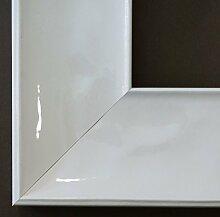 Spiegel Wandspiegel - Taranto Weiß Lack 7,5 -
