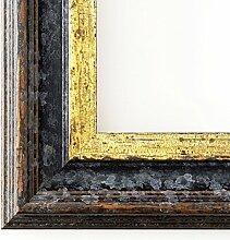 Spiegel Wandspiegel - Trento Schwarz Gold 5,4 - Über 14000 Größen im Angebot zur Auswahl - hier: 37 x 103 cm - Maßanfertigung