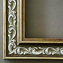 Spiegel Wandspiegel - Verona Grün Gold 4,4 - Über 14000 Größen im Angebot zur Auswahl - hier: 75 x 112 cm - Maßanfertigung