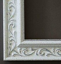 Spiegel Wandspiegel - Verona Weiß Silber 4,4 - Über 14000 Größen im Angebot zur Auswahl - hier: 32 x 60 cm - Maßanfertigung