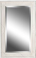 Spiegel Wandspiegel weiß Barock MARIE 80 x 50 cm