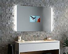 Spiegelando Aurora V2H - TV Spiegel mit LED