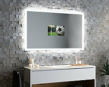 Spiegelando Aurora V40 - TV Spiegel mit LED