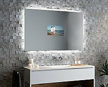 Spiegelando Luzina V40 - TV Spiegel mit LED