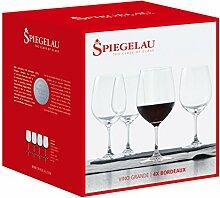 Spiegelau Vino Grande Rotwein-Magnum, 4er Set,