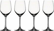 Spiegelau Vino Grande Rotwein/Wasser, 4er Set,