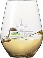 Spiegelau Weinglas [Weiswein] mit individueller