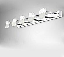 Spiegelfrontlicht& LED-Spiegel Scheinwerfer, Spiegel Schrank Lichter Badezimmer Wasserdichte Wand Lampe Moderne Badezimmer Lichter Make-up Lichter Beleuchtung ( Farbe : Warmweiß-15w88cm )