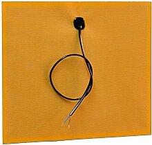 Spiegelheizung, Heizfolie für Spiegel, Spiegelheizfolie 230V / 38Watt / 40x40cm