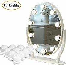 Spiegelleuchten,Luposwiten Spiegel licht mit 10