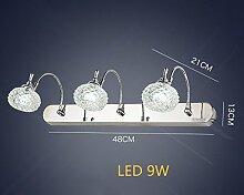 Spiegellicht LDE Spiegel Vorne Licht Lampe Bad Wand 9W 480mm Badezimmer Badezimmer Spiegel Lichter Badezimmer Moderne
