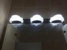Spiegellicht LDE Spiegel Vorne Licht Lampe Bad Wand Wasserdicht Nebel Badezimmer Badezimmer Spiegel Lichter Badezimmer Moderne ( Farbe : 3- 48CM-9w-white light )