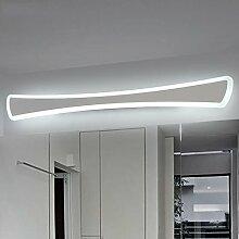 Spiegellicht Spiegel Scheinwerfer / Simple Creative Bad Linse Scheinwerfer / LED Dresser Spiegel Schrank Lichter Badezimmer Moderne ( Farbe : Weißes Licht-40 cm )
