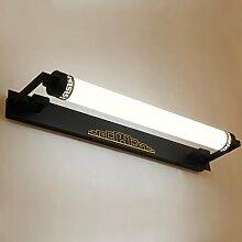 Spiegellicht Spiegel-vordere Lichter Moderne einfache kreative Spiegel-Kabinett-Lichter LED-Badezimmer-Dresser-Spiegel-Kabinett-Lichter Badezimmer Moderne ( Farbe : 2*-62cm )
