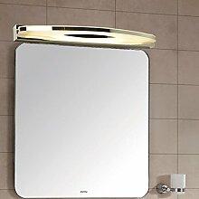 Spiegellicht Spiegel-vordere Lichter Moderne einfache kreative Spiegel-Kabinett-Lichter LED-Badezimmer-Dresser-Spiegel-Kabinett-Lichter Badezimmer Moderne ( Farbe : Warmes Licht-55cm )