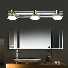Spiegellicht Spiegel-vorderes Licht / einfaches kreatives Badezimmer-Spiegel-Scheinwerfer / Dresser-Spiegel-Kabinett-Lichter Badezimmer Moderne ( Farbe : Warmes Licht )
