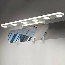 Spiegellicht Spiegel-vorderes Licht / einfaches modernes Spiegel-vorderes Licht / wasserdichtes Nebel-Badezimmer-Badezimmer-Spiegel-Licht Badezimmer Moderne ( Farbe : Natürliches licht )