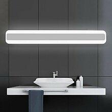 Spiegellicht Spiegel vorne Licht / Simple Modern Spiegel vorne Licht / Wasserdicht Anti-Fog Badezimmer Badezimmer Spiegelleuchte (Warm White) Badezimmer Moderne ( Farbe : Warmes Licht-40 cm )