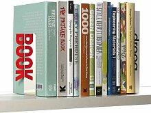 Spiegelnde Buchstütze Books Buchstützen Buchständer für Bücher