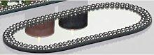 Spiegelplatte, Deko Spiegel Kerzenplatte oval 40x16cm Sandra Rich (14,95 EUR / Stück)