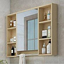 Spiegelschrank Badschrank Mit Handtuch