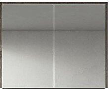 Spiegelschrank Cuba 90 cm Stone Ash - Schrank