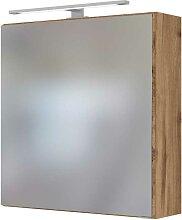 Spiegelschrank für Badezimmer Wildeichefarben