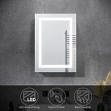Spiegelschrank mit LED Beleuchtung Badspiegel 50 x