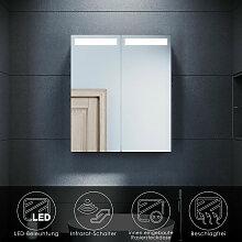 Spiegelschrank mit LED Beleuchtung Badspiegel