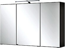 Spiegelschrank PADUA-03 / FLORIDO-03 graphitgrau,