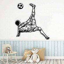 Spiel Fußball Wandaufkleber Junge Schlafzimmer