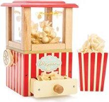 Spiel-Popcornmaschine 7-teilig aus Holz